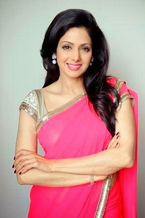 Sridevi - Top 10 Super Sexy Moms of Bollywood and Their Fashion Sense