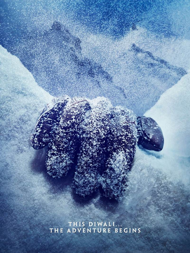 The new teaser poster of Shivaay shared by Ajay Devgn will give you chills!- Shivaay Teaser