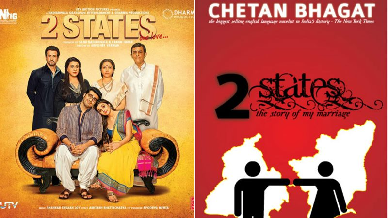Top 10 Bollywood Movies based on Best Seller Novels- 2 States