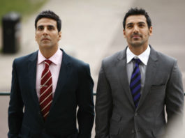 akshay and John - fittest actors of Bollywood