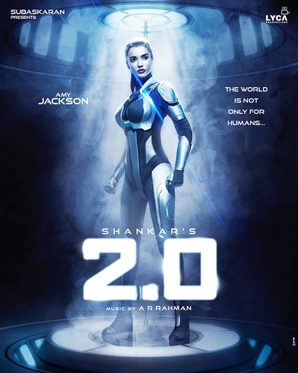 2.0 first look Amy Jackson