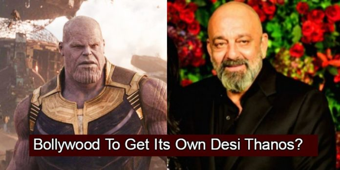 Sanjay Dutt Revealed The First Look Of His Character In 'KGF 2' By Comparing It With Thanos